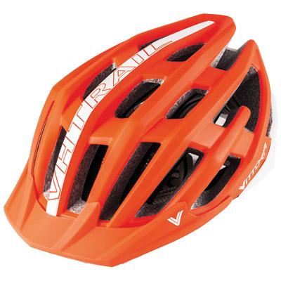 Casco De Montaña Vittoria VH Trail Sm Md Bicicleta Naranja blancoo
